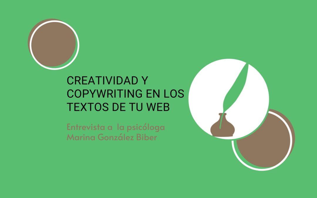 Creatividad y copywriting en los textos de tu web