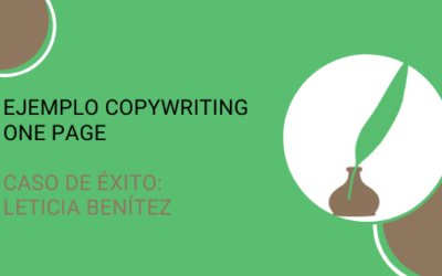 Ejemplo copywriting One Page