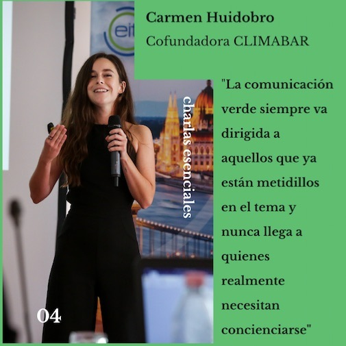 Entrevista a Carmen Huidobro, cofundadora Climabar.